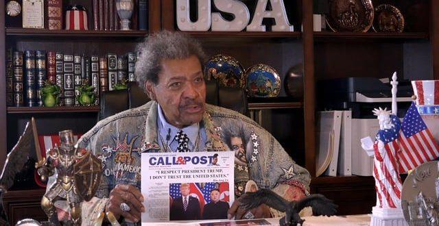 Don King Talks President Trump Acquital